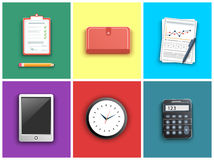 Business work elements Royalty Free Stock Photo