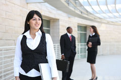 Business Workers at Office Royalty Free Stock Photography