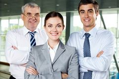 Business workgroup Stock Image