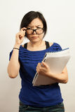 Business and working woman Stock Images