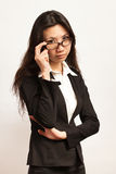 Business and working woman Royalty Free Stock Image