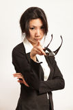 Business and working woman Stock Photo