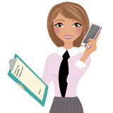 Business working woman Stock Photo