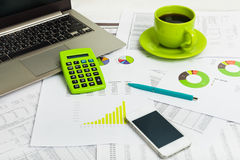 Business workplace Royalty Free Stock Photo