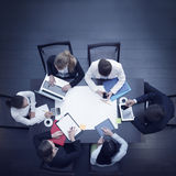 Business workplace with people Royalty Free Stock Image