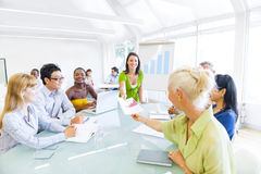 Business Workshop Stock Image
