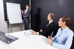 Business workshop in the office Royalty Free Stock Photo