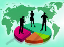 Business in the world Stock Images