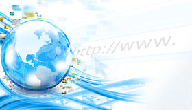 Business world background Royalty Free Stock Photography