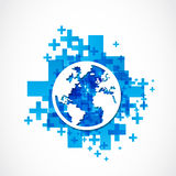 Business world globe concept Royalty Free Stock Photo