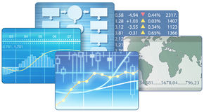 Business world Stock Image