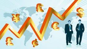 Business world map Stock Image