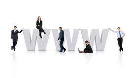 Business www Stock Image