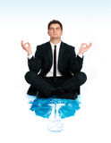 Business yoga Royalty Free Stock Photos