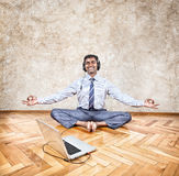 Business yoga Stock Photos