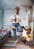 Business Yoga Stock Image