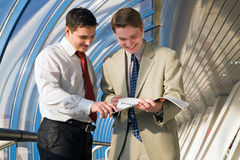 Business young men Stock Photo