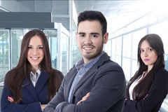 Young team of business royalty free stock photo