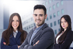 Young team of business royalty free stock photography