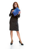 Business young woman Royalty Free Stock Photo