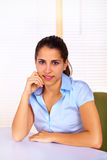 Business young woman Stock Image