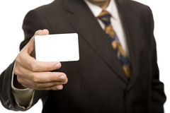Businesscard Stock Image
