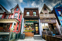 Businesses in Kensington Market, Toronto, Ontario. Stock Photography