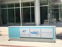 Businesses at 1221 Main Street in Columbia, South Carolina.  stock photos