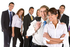 Businessgroup isolated Stock Image