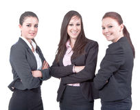 Businessladies on the rise Stock Images