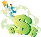 Businessman-09 Imagen de archivo libre de regalías