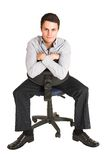 Businessman #102 Stock Image
