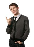 Businessman. A man in business clothes Stock Photography