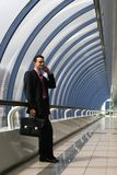 Businessman 2. A photo of businessman in a corporate environment Royalty Free Stock Photos