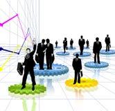 Businessman vector illustration