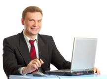 The businessman Stock Image