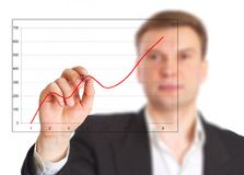 The businessman Royalty Free Stock Images