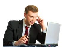 The businessman Stock Photo