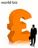 Businessman. Illustration of businessman... world biz stock illustration