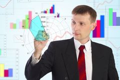 The businessman Royalty Free Stock Image