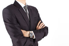 Businessman. A Businessman / white background /professional Royalty Free Stock Image