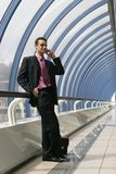 Businessman 3. A photo of businessman in a corporate environment Royalty Free Stock Photography