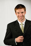 Businessman,  young lawyer Stock Photo