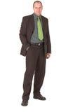 Businessman #7. Businessman smirking/smiling Royalty Free Stock Images