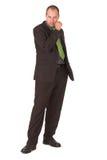 Businessman #9. Businessman modelling Royalty Free Stock Photos