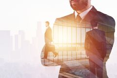 Success and occupation concept Royalty Free Stock Images