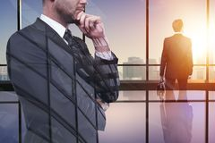 Success and career concept Royalty Free Stock Photo