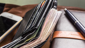 Businessman accessories Stock Photography