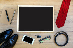 Businessman accessories Royalty Free Stock Photo