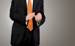 Businessman in action Royalty Free Stock Photos